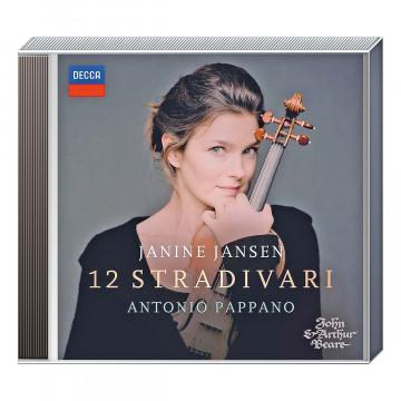 CD Janine Jansen - 12 Stradivari