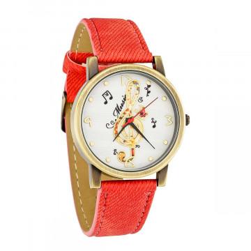 Armbanduhr »Violinschlüssel«