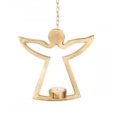 Teelichthalter »Engel gold«