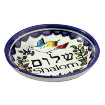 Schale Shalom und Taube