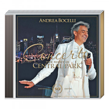 CD Andrea Bocelli »One Night in Central Park«