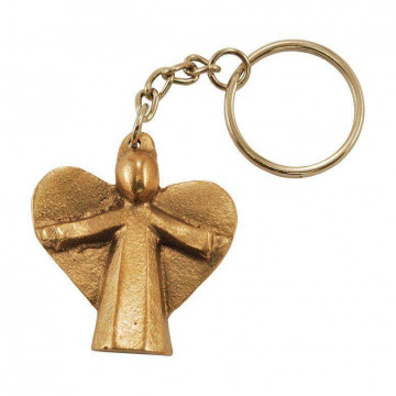 Schlüsselanhänger Engel-Figur