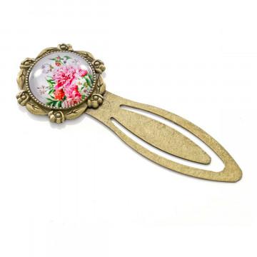Lesezeichen »Rosenblüte«