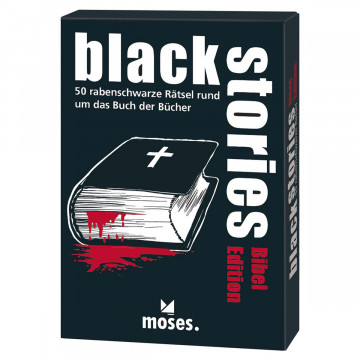 Spiel »Black Stories« Bibel Edition