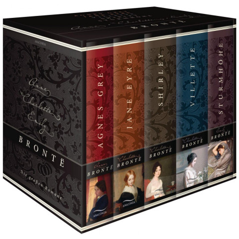 Brontë - Die großen Romane. Agnes Grey - Jane Eyre - Villette - Shirley - Sturmhöhe