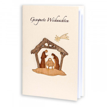 Grußkarte »Heilige Familie«
