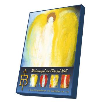 Kartenbox »Farbenengel«