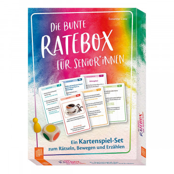 Die bunte Ratebox für SeniorInnen