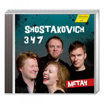 CD: »Shostakovich - String Quartets Nummer 3, 4 & 7«