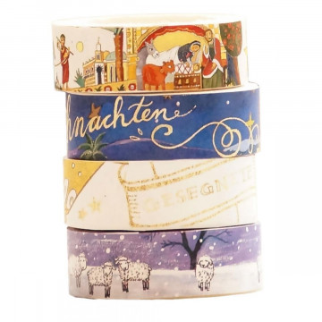 Washi Tapes Set Weihnachten