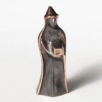 König, stehend, mit spitzem Hut (1 Stück)