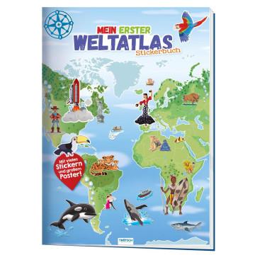 Stickerbuch »Mein erster Weltatlas«