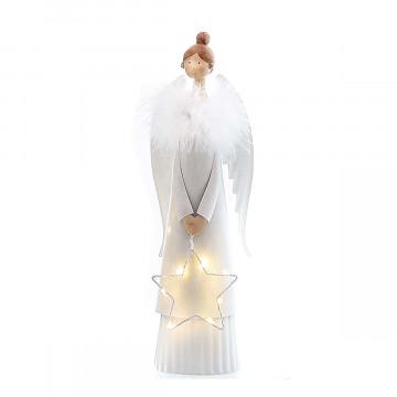LED-Engel mit Stern