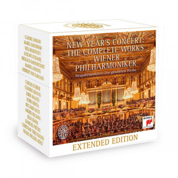 Neujahrskonzert Wiener Philharmoniker: Die gesamten Werke