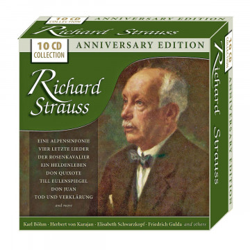 10 CDs »Richard Strauss - Anniversary Edition«