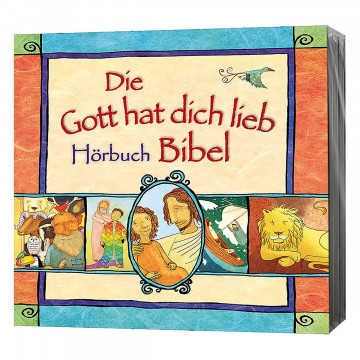 CD-Box »Die Gott hat dich lieb Bibel«