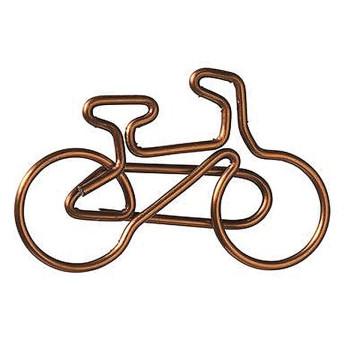 2er-Set: Büroklammer Fahrrad