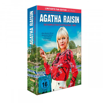 7 DVDs »Agatha Raisin«