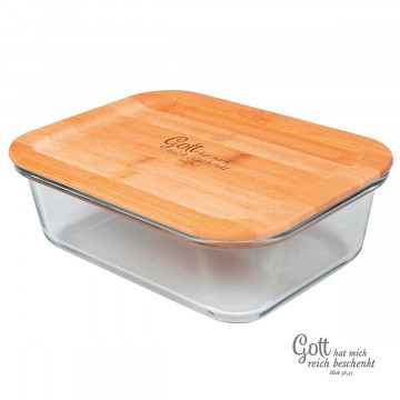Glas-Lunchbox 3-in-1