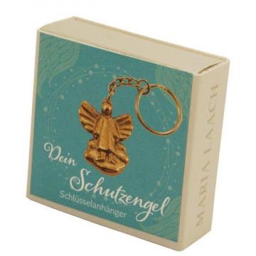 """Schlüsselanhänger Engel auf Wolke, in Schachtel """"Dein Schutzengel"""""""