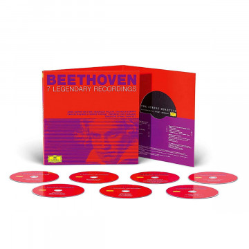 Musik-CDs: Beethoven -7 Legendary Recordings (Ltd. Edt.)