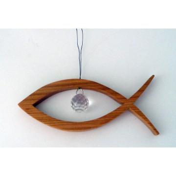 Fisch mit Swarovski-Elements