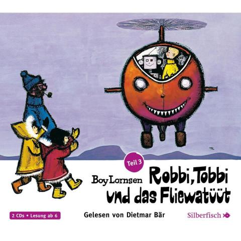 Robbi, Tobbi und das Fliewatüüt 03: Von Plumpudding Castle nach Tütermoor