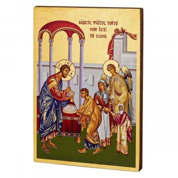 Ikone »Die Heilige Erstkommunion«