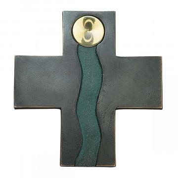 Bronzekreuz »Fluss des Lebens«