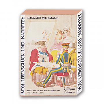 Wiener Biedermeier Kartenspiel