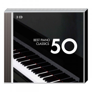3 CDs »50 Best Piano Classics«