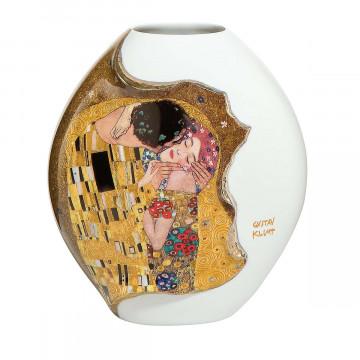 Gustav Klimt-Vase »Der Kuss«