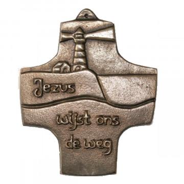 "Kommunionkreuz ""Jezus wijst ons de weg"""