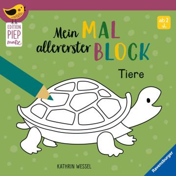 Edition Piepmatz: Mein allererster Malblock - Tiere