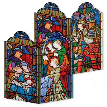 2er-Set Weihnachtskarten »Die Heilige Nacht«