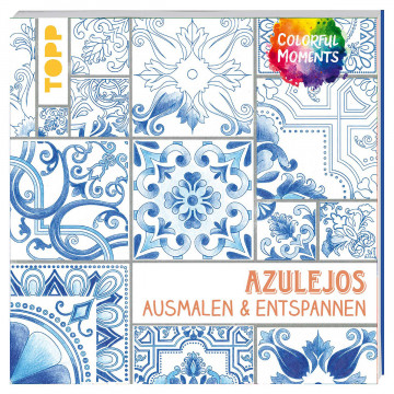 Malbuch »Colorful Moments - Azulejos«