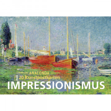 Postkarten-Set Impressionismus