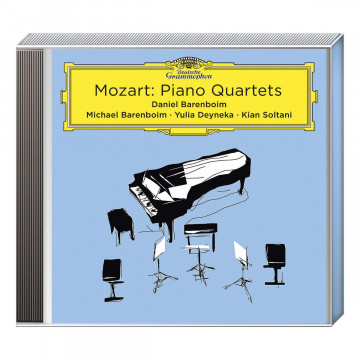 CD »Mozart: Piano Quartets«