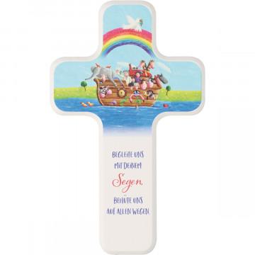 Kinderholzkreuz - Arche Noah (1 Stück)