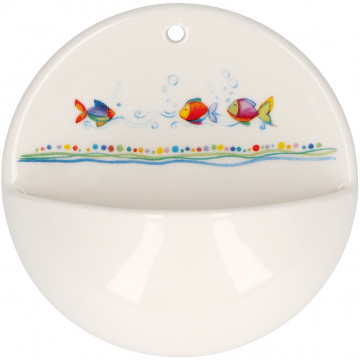 Weihwasserbecken Segen für dich aus Porzellan (1 Stück)