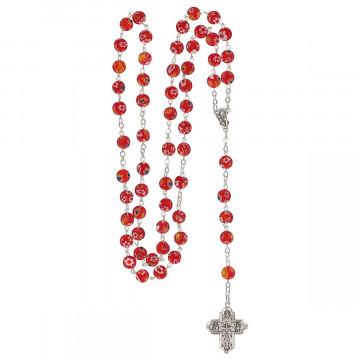 Rosenkranz mit Millefiori-Perlen