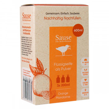 Seife in Pulverform »Orange«