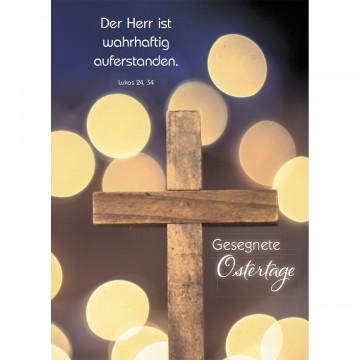 Postkarte Gesegnete Ostertage (10 Stück)