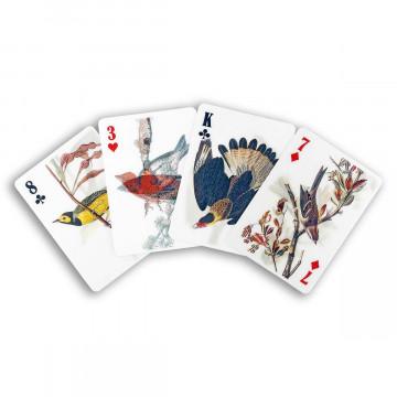 3D-Spielkarten »Vögel«
