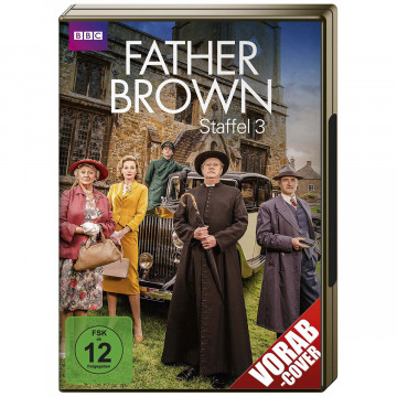 4 DVDs Father Brown Staffel 3