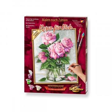 Schipper Malen nach Zahlen - Rosen für Dich