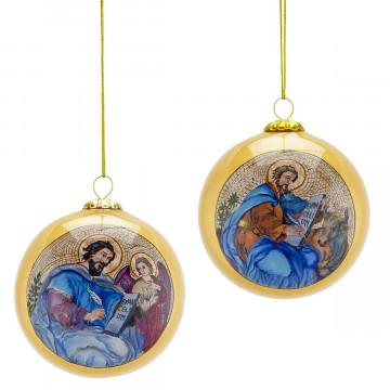 2er-Set Christbaumkugeln »Gesegnete Weihnachten«