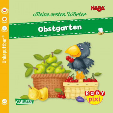 Baby Pixi (unkaputtbar) 89: VE 5 HABA Erste Wörter: Obstgarten (5 Exemplare)