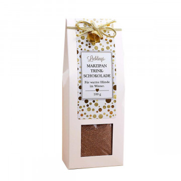 Trinkschokolade Marzipan