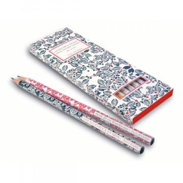 Insel-Bücherei Bleistift-Set I. 6 Bleistifte mit Zitaten